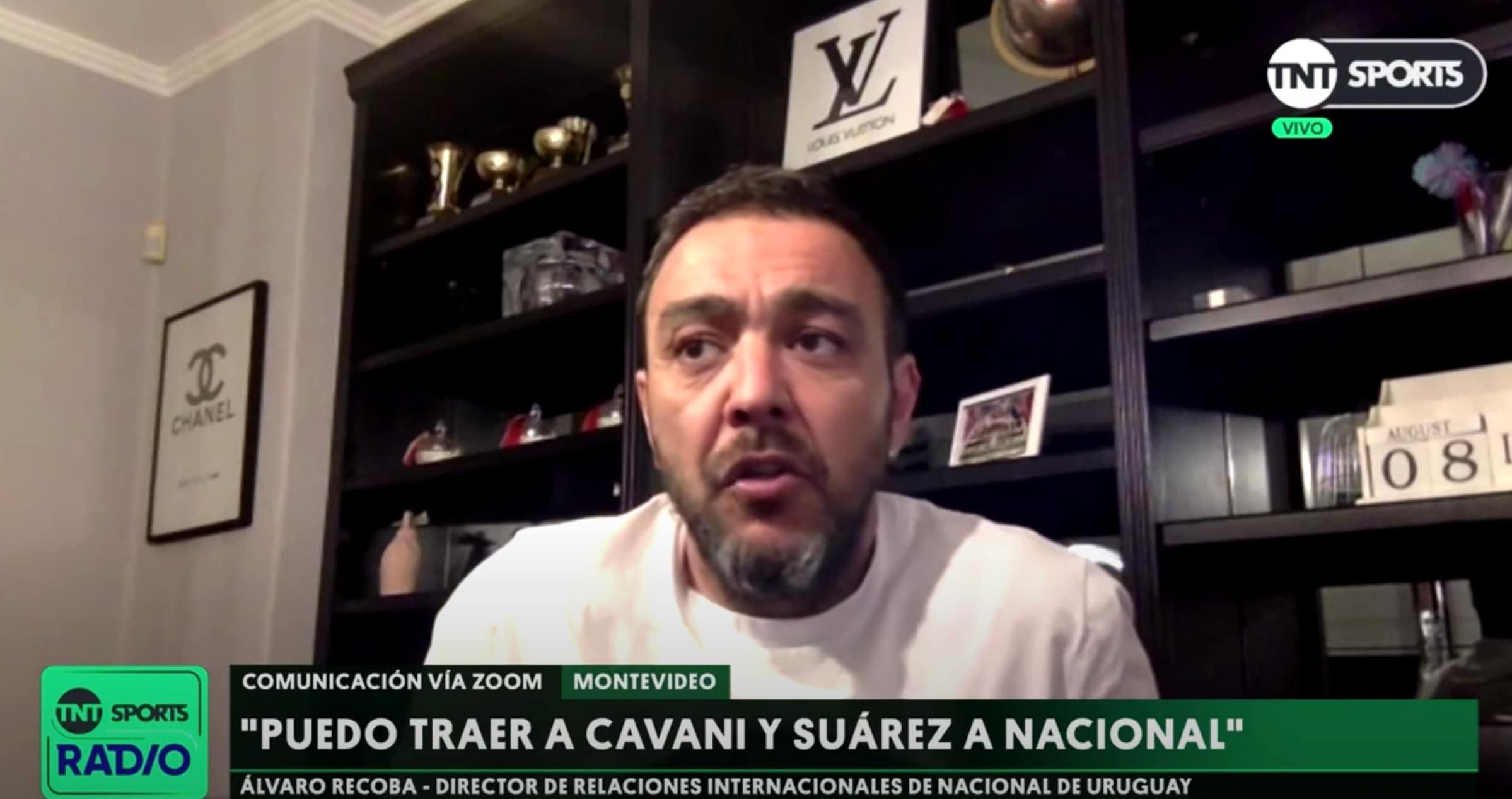 """Recoba avversario Juve: """"Suarez e Cavani al Nacional"""""""
