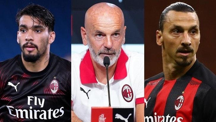 Milan-Shamrock, i convocati: Pioli lascia fuori Paquetà, c'è Ibrahimovic