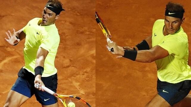 Nadal, debutto con vittoria agli Internazionali d'Italia dopo 6 mesi d'assenza