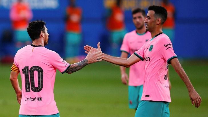 Messi è tornato: si riprende il Barcellona…in rosa!