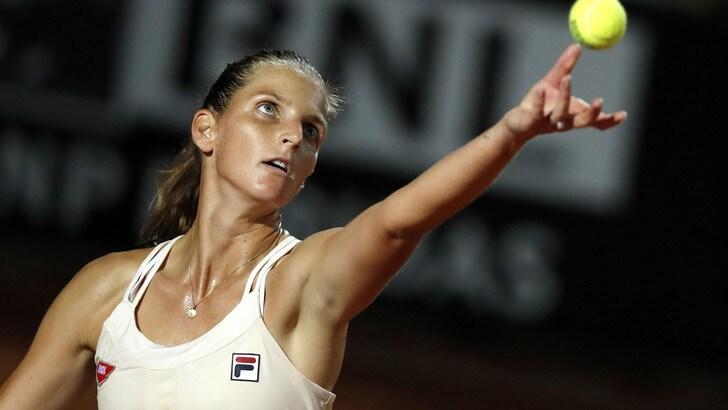 Internazionali d'Italia, Pliskova batte Strycova e vola agli ottavi