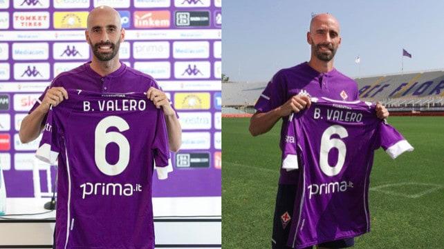 Fiorentina, il ritorno di Borja Valero con la maglia numero 6