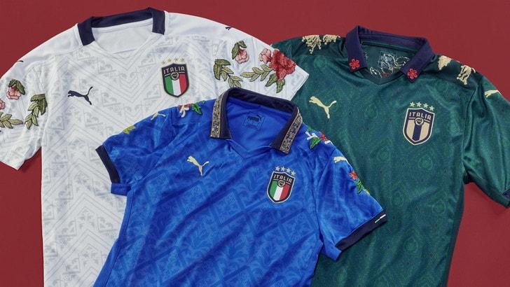 PUMA  e The Football Gal presentano tre maglie FIGC tributo alla cultura italiana