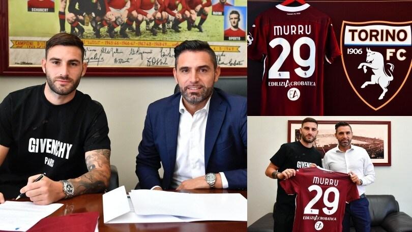 Torino, Murru si presenta: ha scelto la numero 29