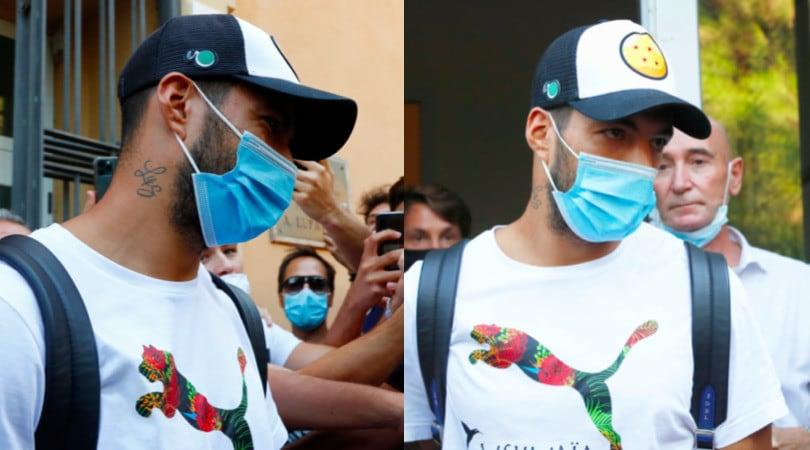 Juve, Suarez lascia l'università di Perugia: test superato