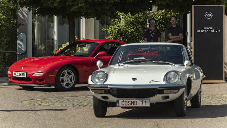 Mazda, i 100 anni al Museo Frey: gli scatti