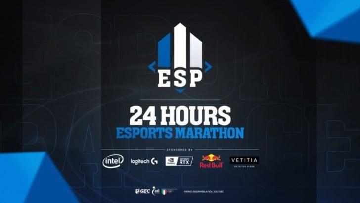 La 24 Hours Esports Marathon 2020 si svolgerà a Bergamo