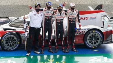 La Toyota trionfa nella 24 Ore di Le Mans