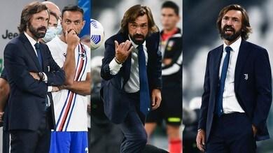 Pirlo debutta allo Stadium: che stile per Juve-Sampdoria