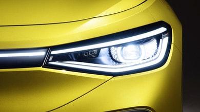 Volkswagen ID.4, il SUV elettrico con i fari 3D LED