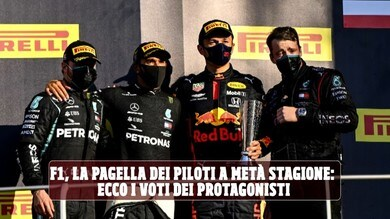 F1, le pagelle di metà stagione: i piloti