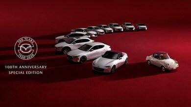 Mazda 100th Anniversary, la serie speciale sbarca in Italia