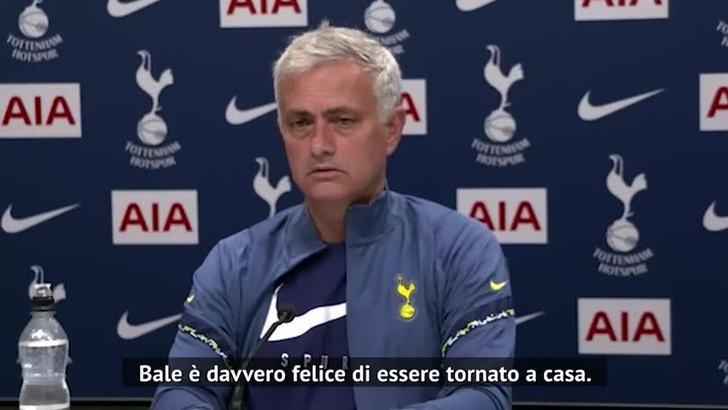 """Mourinho: """"Bale? Felice di essere tornato a casa..."""""""