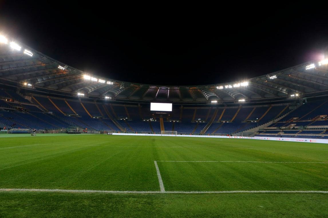 Roma-Juve, ufficiale: mille tifosi all'Olimpico