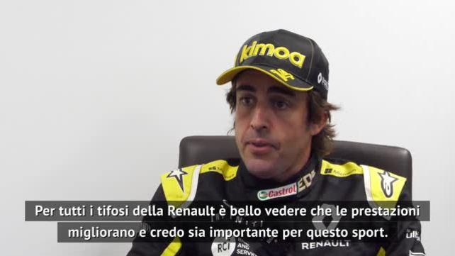 """Alonso: """"Renault in crescita, ho voglia di F1"""""""
