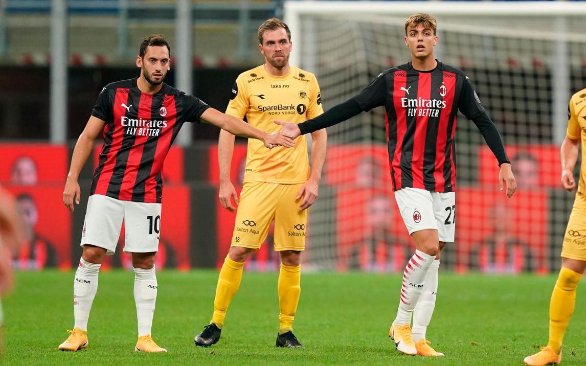 Milan-Bodo/Glimt 3-2, il tabellino