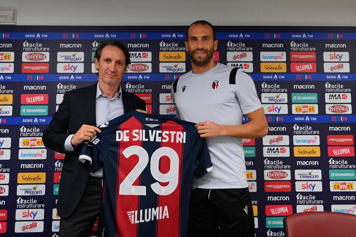 """Bologna, De Silvestri si presenta: """"Ecco perché ho scelto la 29"""""""