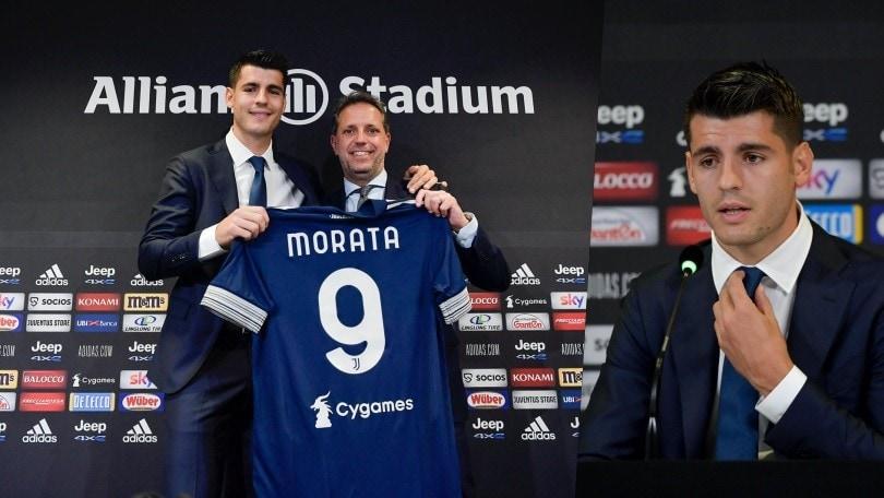 Juve, riecco Morata: Pirlo ha finalmente il suo numero 9
