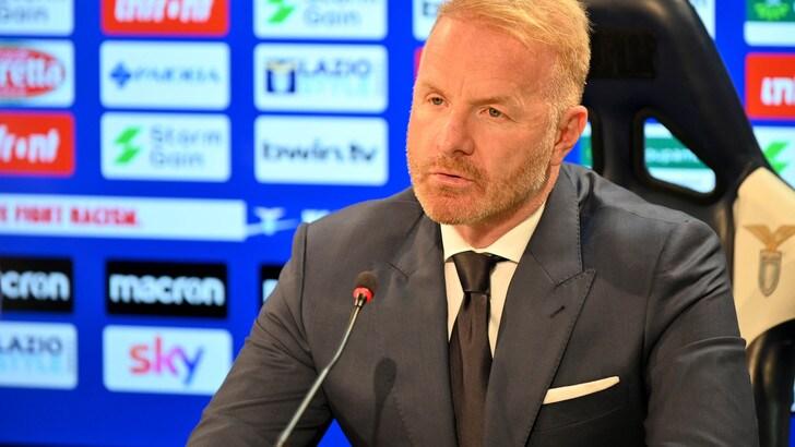 """Lazio, Tare: """"Pensiamo al rinvio del match con il Torino"""""""