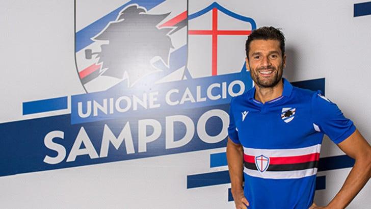Sampdoria, ufficiale: preso Candreva dall'Inter. Contratto quadriennale