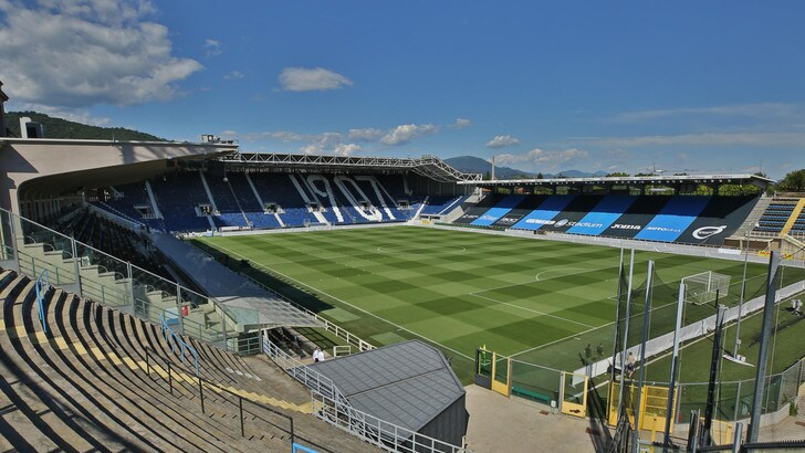Il Gewiss Stadium è pronto per l'Atalanta: restyling completato