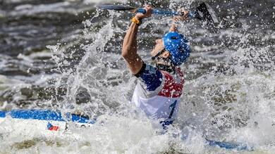 Mondiale di canoa: trionfo azzurro nel K1 200m. Tacchini argento nel C1 1000m