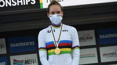 Van der Breggen oro mondiale nel ciclismo, terza Longo Borghini