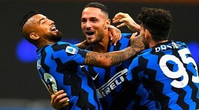 Serie A, Inter-Fiorentina 4-3: Conte esulta, rimonta show nel finale