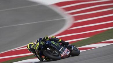 Gp Catalogna: Valentino Rossi cade e si ritira, era secondo