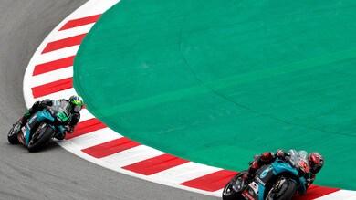 Gp Catalogna: successo di Quartararo che precede Mir, Valentino Rossi si ritira