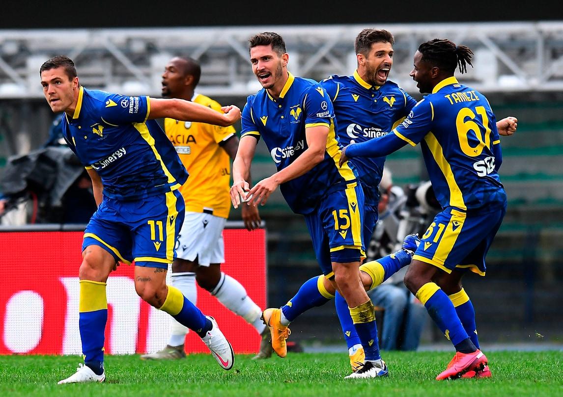 Favilli, primo gol in A pesantissimo: Verona in testa