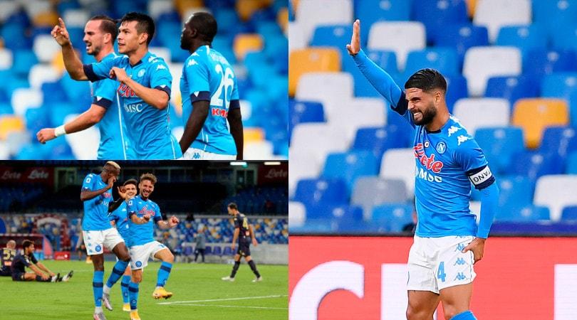 Insigne va ko ma il Napoli demolisce il Genoa. Al San Paolo finisce 6-0