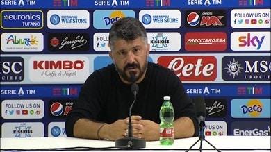 """Gattuso: """"Ho riproposto il calcio di Sarri per aiutare la squadra"""""""