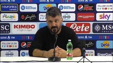 """Gattuso: """"Questo il Napoli che vorrei vedere? Non saprei.."""""""