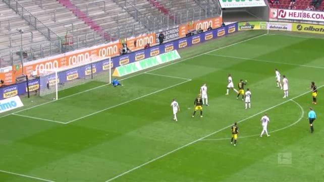 Dortmund, primo dispiacere contro l'Augsburg
