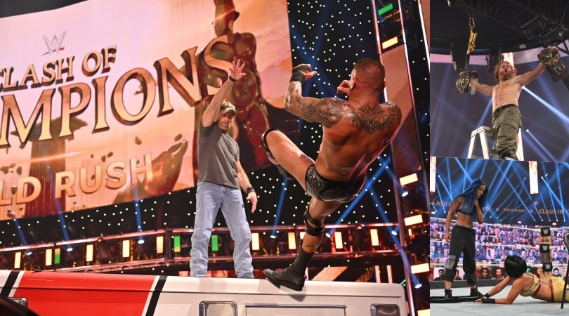 WWE Clash of Champions 2020, le leggende puniscono Randy Orton