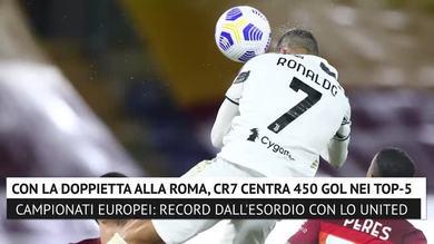 Inarrestabile CR7, 450 gol nei 5 grandi campionati europei