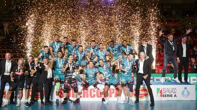 Supercoppa, festeggia Perugia