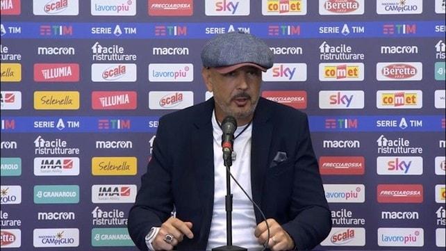 """Mihajlovic: """"Speravo che la partita si mettesse così.."""""""