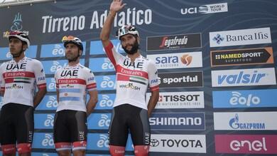 Giro d'Italia: Uae Emirates al via con Gaviria, Ulissi e Conti