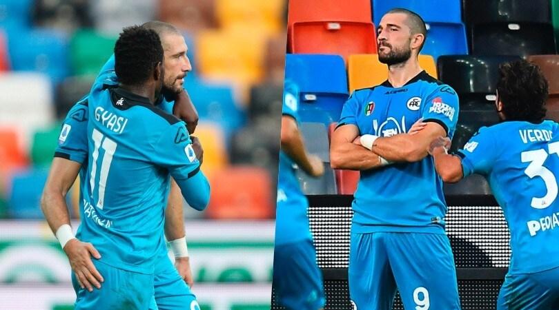 Galabinov trascina lo Spezia e sfida Ronaldo: tre gol in due partite!