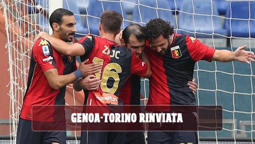 La Lega di Serie A ha deciso: rinviata Genoa-Torino