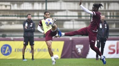 Torino, seduta tattica verso il Lecce