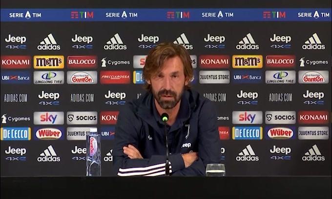 """Pirlo: """"Caso Genoa? Può succedere anche alla Juve"""""""
