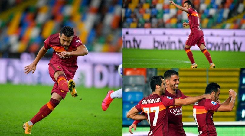 Che botta di Pedro! La Roma batte l'Udinese, prima gioia per Fonseca