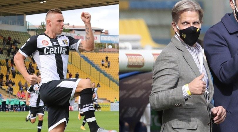 Krause sorride, Kurtic regala la prima vittoria al Parma