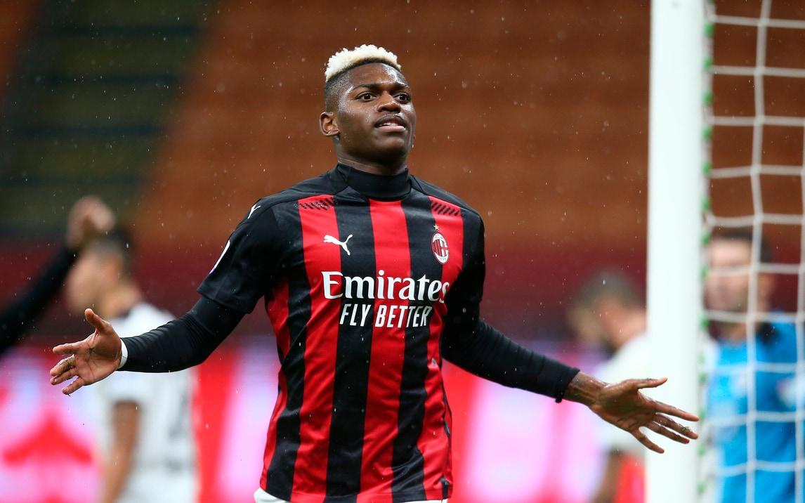 Rafael Leao fa doppietta: tris del Milan allo Spezia