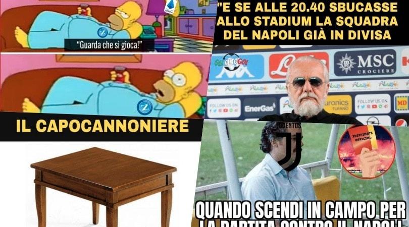 Juve-Napoli, impazzano le ironie sui social!