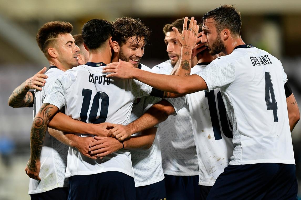 Spettacolo Italia con la Moldova: Caputo gol all'esordio, El Shaarawy show