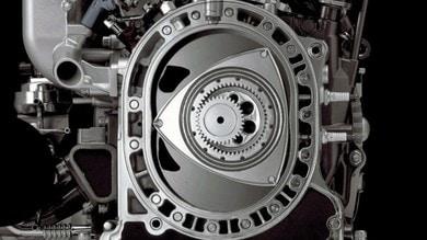 Mazda e l'elettrico con motore rotativo Wankel: su strada nel 2022